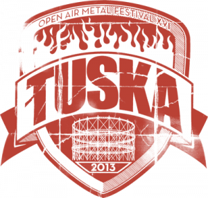 The logo of Tuska Metal Festival, in Helsinki